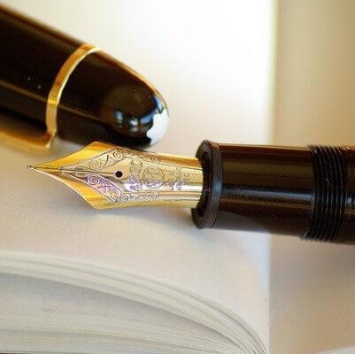 elegir pluma estilográfica, empezar a escribir con pluma, tipos de plumas