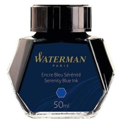 Mejor tinta azul para pluma Waterman Serenity Blue