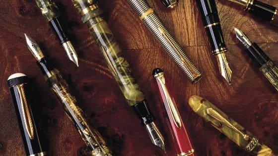 Tipos de plumas estilográficas fuente