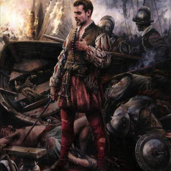 Cervantes vida manco de Lepanto