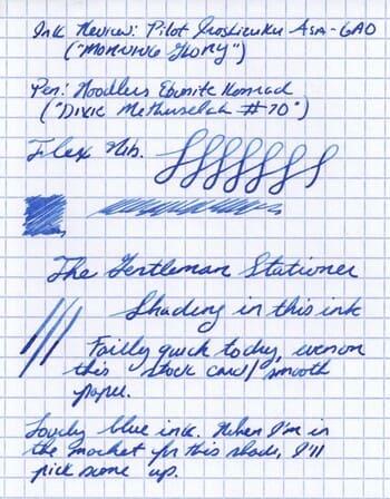 comparativa tintas para pluma