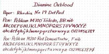 Tinta Diamine Oxblood