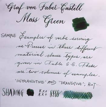 Tinta pluma verde lujo elegante lujosa