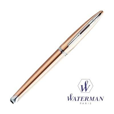 bolígrafo elegante distinguido oro rosa Waterman