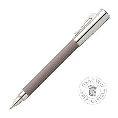 bolígrafo roller elegante y discreto tapa de metal