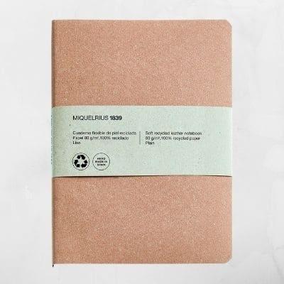 cuaderno libreta para estilográfica reciclado ecológico