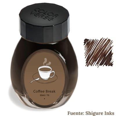 Qué tintas para pluma tienen color a café