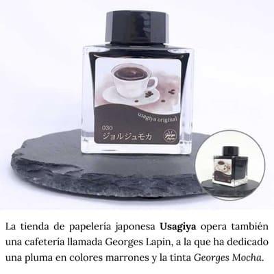 tintas pluma fuente aroma olor fragancia esencia café natural