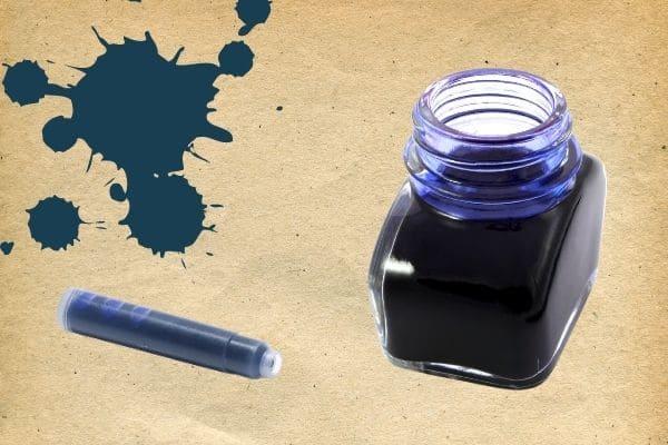 Formatos tinta para pluma cartuchos o tinteros