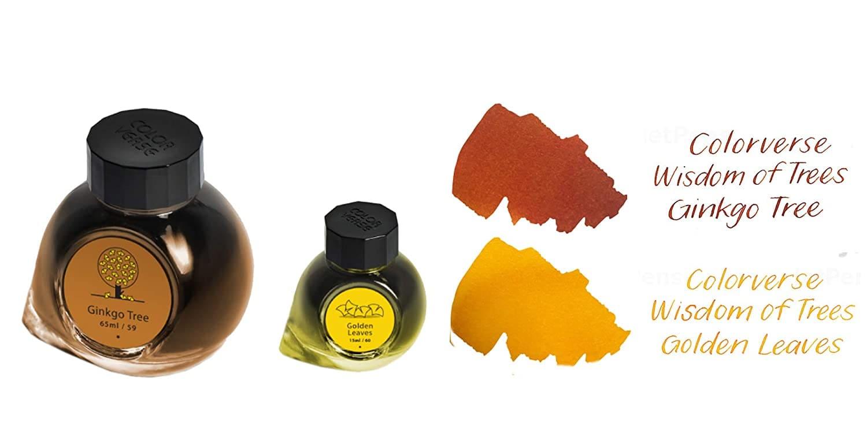 Tinta Colorverse tintero grande y pequeños combinación de colores