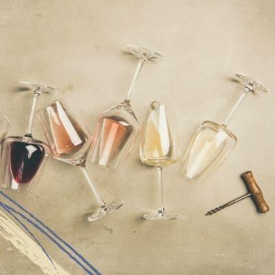 Cata de vinos y tintas