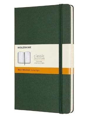 libreta Moleskine tamaños y formatos