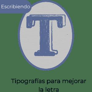 Tipografías con las que aprender nueva letra