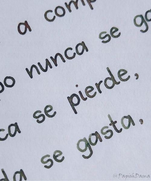 Tipo de letra sans serif escribir a mano